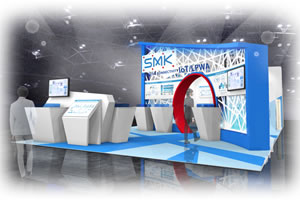 SMK booth ceatec2017